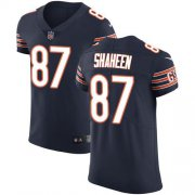Wholesale Cheap Nike Bears #87 Adam Shaheen Navy Blue Team Color Men's Stitched NFL Vapor Untouchable Elite Jersey