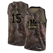 Wholesale Cheap Nike Golden State Warriors #15 Latrell Sprewell Camo NBA Swingman Realtree Collection Jersey