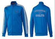 Wholesale NFL Indianapolis Colts Heart Jacket Blue_2