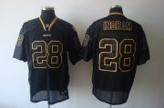 Wholesale Cheap Saints #28 Mark Ingram Lights Out Black Stitched NFL Jersey