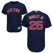 Wholesale Cheap Red Sox #25 Jackie Bradley Jr Navy Blue Flexbase Authentic Collection Stitched MLB Jersey