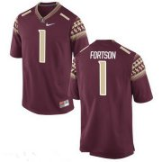 Wholesale Cheap Men's Florida State Seminoles #1 Jarmon Fortson Red Stitched College Football 2016 Nike NCAA Jersey