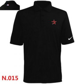 Wholesale Cheap Nike Houston Astros 2014 Players Performance Polo Black