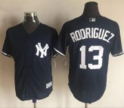 Wholesale Cheap Yankees #13 Alex Rodriguez Navy Blue New Cool Base Stitched MLB Jersey
