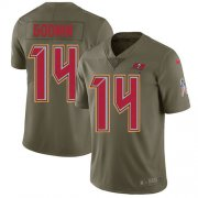 Wholesale Nike Buccaneers #50 Vita Vea White Men's Stitched NFL Vapor Untouchable Limited Jersey