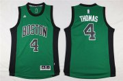 Wholesale Cheap Boston Celtics 4 Isaiah Thomas Green Swingman Jersey