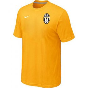 Wholesale Cheap Nike Juventus Soccer T-Shirt Yellow