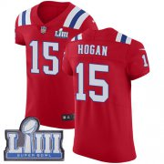 Wholesale Cheap Nike Patriots #15 Chris Hogan Red Alternate Super Bowl LIII Bound Men's Stitched NFL Vapor Untouchable Elite Jersey