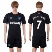 Wholesale Cheap West Ham United #7 Arnautovic Away Soccer Club Jersey