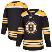 Wholesale Cheap Adidas Bruins Blank Black Home Authentic Youth Stitched NHL Jersey