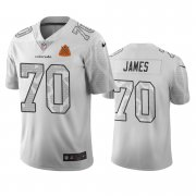 Wholesale Cheap Denver Broncos #70 Ja'Wuan James White Vapor Limited City Edition NFL Jersey