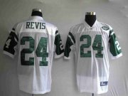 Wholesale Cheap Jets #24 Darrelle Revis Stitched White NFL Jersey