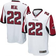 Wholesale Nike Falcons #22 Keanu Neal White Youth Stitched NFL Elite Jersey