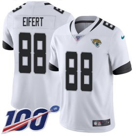 Wholesale Cheap Nike Jaguars #88 Tyler Eifert White Men\'s Stitched NFL 100th Season Vapor Untouchable Limited Jersey