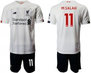 Wholesale Cheap Liverpool #11 M.Salah Away Soccer Club Jersey