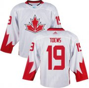 Wholesale Cheap Team Canada #19 Jonathan Toews White 2016 World Cup Stitched Youth NHL Jersey