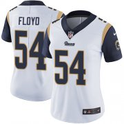 Wholesale Cheap Nike Rams #54 Leonard Floyd White Women's Stitched NFL Vapor Untouchable Limited Jersey