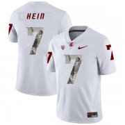 Wholesale Cheap Washington State Cougars 7 Mel Hein White Fashion College Football Jersey