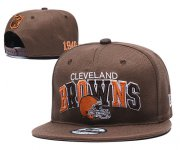 Wholesale Cheap Browns Team Logo brown 1946 Anniversary Adjustable Hat YD