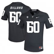 Wholesale Cheap Washington State Cougars 60 Andre Dillard Black College Football Jersey
