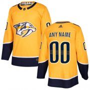 Wholesale Cheap Men's Adidas Predators Personalized Authentic Gold Home NHL Jersey