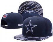 Wholesale Cheap NFL Dallas Cowboys Black Snapback Adjustable hat -909