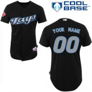 Wholesale Cheap Blue Jays Authentic Black Cool Base MLB Jersey (S-3XL)