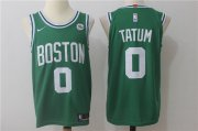 Wholesale Cheap Men's Boston Celtics #0 Jayson Tatum Green 2017-2018 Nike Swingman Stitched NBA Jersey