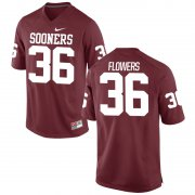 Wholesale Cheap Men's Nike Dimitri Flowers Oklahoma Sooners #36 Limited Cardinal Alumni Football Jersey