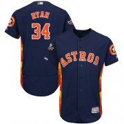 Wholesale Cheap Astros #34 Nolan Ryan Navy Blue Flexbase Authentic Collection 2019 World Series Bound Stitched MLB Jersey