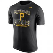 Wholesale Cheap Pittsburgh Pirates Nike Cooperstown Collection Legend Team Issue Performance T-Shirt Black
