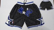 Wholesale Cheap Magic Black Stitched Shorts