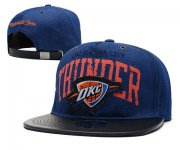 Wholesale Cheap NBA Oklahoma City Thunder Snapback Ajustable Cap Hat XDF 043