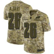 Wholesale Cheap Nike Eagles #26 Jay Ajayi Camo Men's Stitched NFL Limited 2018 Salute To Service Jersey