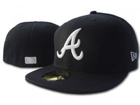 Wholesale Cheap Atlanta Braves fitted hats 13