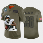 Cheap Philadelphia Eagles #26 Miles Sanders Nike Team Hero 2 Vapor Limited NFL Jersey Camo