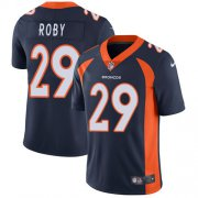 Wholesale Cheap Nike Broncos #29 Bradley Roby Navy Blue Alternate Men's Stitched NFL Vapor Untouchable Limited Jersey