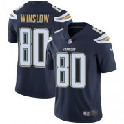 Wholesale Cheap Nike Chargers #80 Kellen Winslow Navy Blue Team Color Men's Stitched NFL Vapor Untouchable Limited Jersey