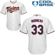Wholesale Cheap Twins #33 Justin Morneau White Cool Base Stitched Youth MLB Jersey