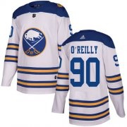 Wholesale Cheap Adidas Sabres #90 Ryan O'Reilly White Authentic 2018 Winter Classic Youth Stitched NHL Jersey