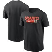 Wholesale Cheap San Francisco Giants Nike Local Nickname T-Shirt Black