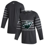Wholesale Cheap Men's Minnesota Wild Adidas Gray 2020 NHL All-Star Game Authentic Jersey