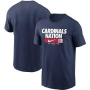 Wholesale Cheap St. Louis Cardinals Nike Local Nickname T-Shirt Navy
