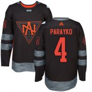 Wholesale Cheap Team North America #4 Colton Parayko Black 2016 World Cup Stitched NHL Jersey