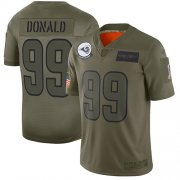 Wholesale Cheap Nike Rams #99 Aaron Donald Camo Youth Stitched NFL Limited 2019 Salute to Service Jersey
