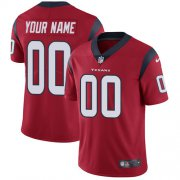 Wholesale Cheap Nike Houston Texans Customized Red Alternate Stitched Vapor Untouchable Limited Men's NFL Jersey