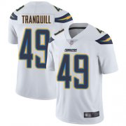 Wholesale Cheap Nike Chargers #49 Drue Tranquill White Men's Stitched NFL Vapor Untouchable Limited Jersey