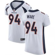 Wholesale Cheap Nike Broncos #94 DeMarcus Ware White Men's Stitched NFL Vapor Untouchable Elite Jersey