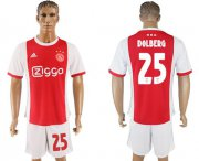 Wholesale Cheap Ajax #25 Dolberg Home Soccer Club Jersey