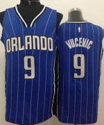 Wholesale Cheap Orlando Magic #9 Nikola Vucevic Blue Swingman Jersey